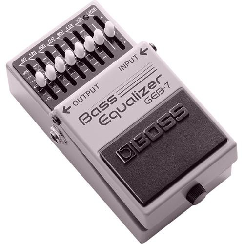 BOSS GEB-7 Bass Equalizer Stompbox Pedal