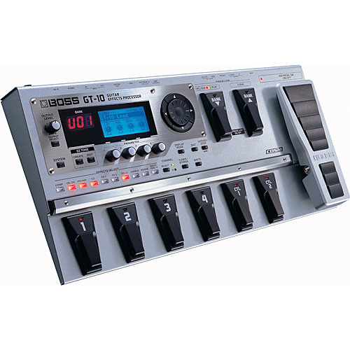 boss gt 10 guitar effects processor gt 10 b h photo video. Black Bedroom Furniture Sets. Home Design Ideas