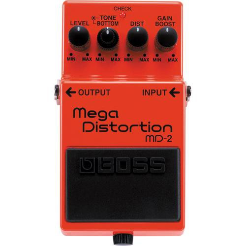 BOSS MD-2 Mega Distortion Stompbox Pedal