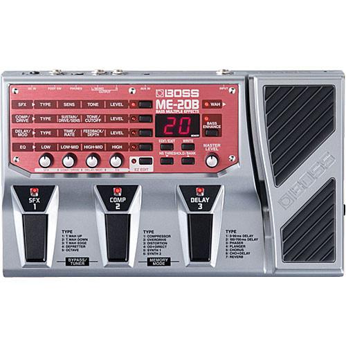 BOSS ME-20B - Bass Multiple Effects Pedal