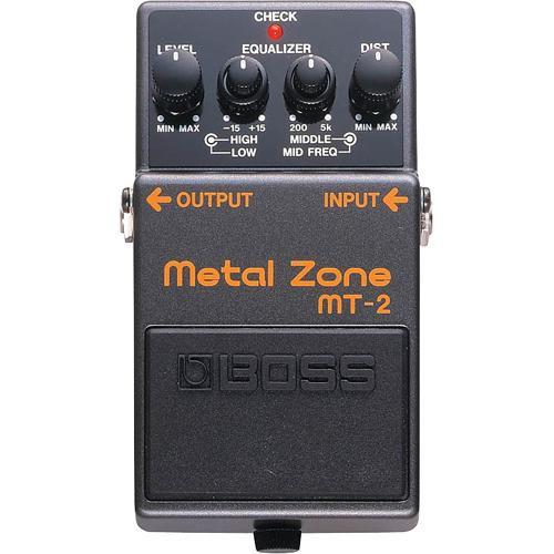 BOSS MT-2 Metal Zone Stompbox Pedal