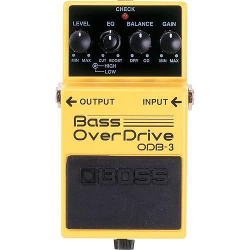 BOSS ODB-3 Bass OverDrive Stompbox Pedal