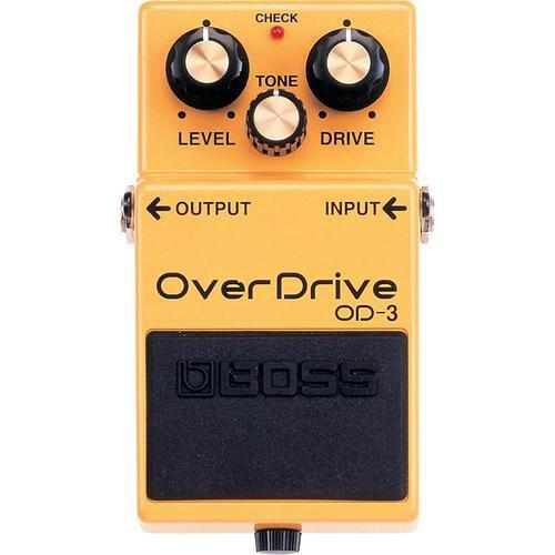 BOSS OD-3 OverDrive Stompbox Pedal