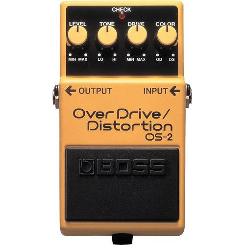 BOSS OS-2 OverDrive/Distortion Stompbox Pedal