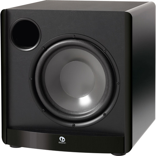 """Boston Acoustics ASW 650 10"""" Front-Firing Powered Subwoofer"""