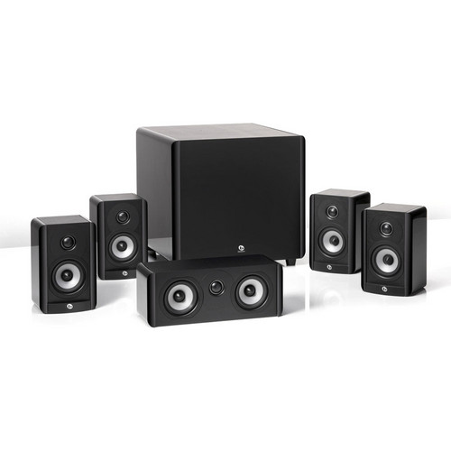 Boston Acoustics A 2310HTS Home Theater Speaker Package (Black)