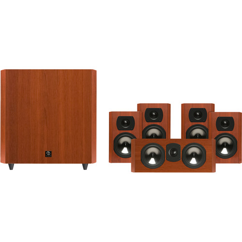 Boston Acoustics CS2310 5.1-Channel Home Theater Speaker System (Cherry)
