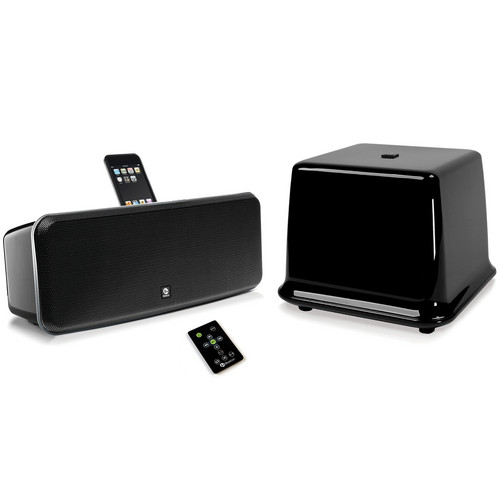 Boston Acoustics i-DS3 Plus iPod Speaker System (Gloss Black)