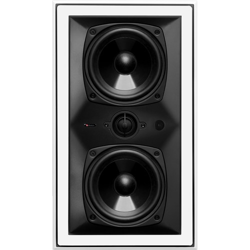 "Boston Acoustics HSi 455W2 Dual 5.25"" 2-Way In-Wall LCR Speaker"
