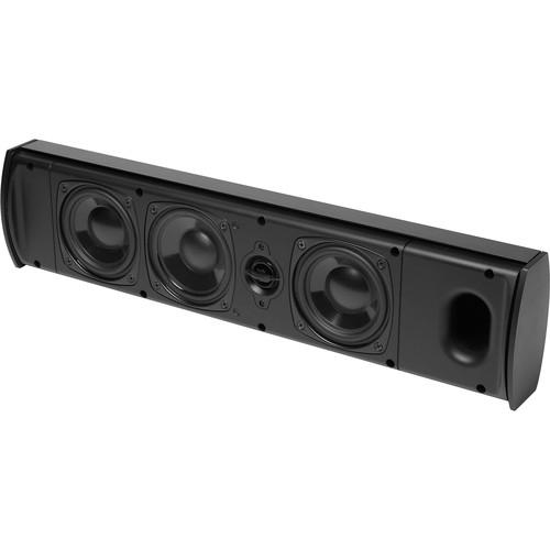 Boston Acoustics P442 3-Way On-Wall Speaker (Black)