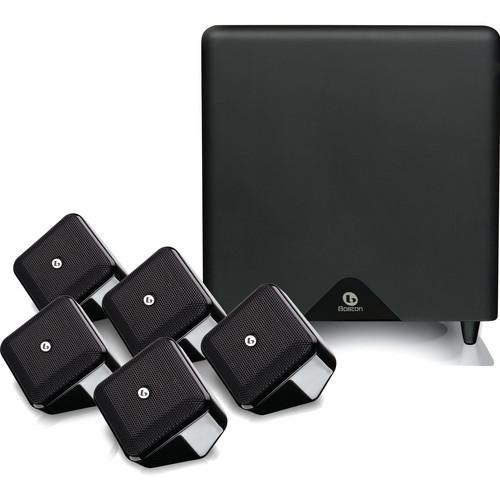 Boston Acoustics SoundWare XS 5.1 SE Home Theater System (High-Gloss Black)