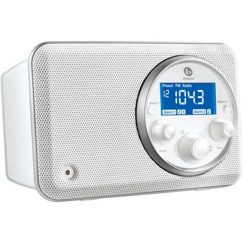 Boston Acoustics Solo II AM/FM Radio (White)