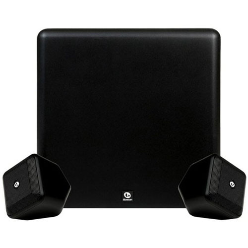 Boston Acoustics SoundWare XS 2.1-Channel Stereo Speaker System (Black)
