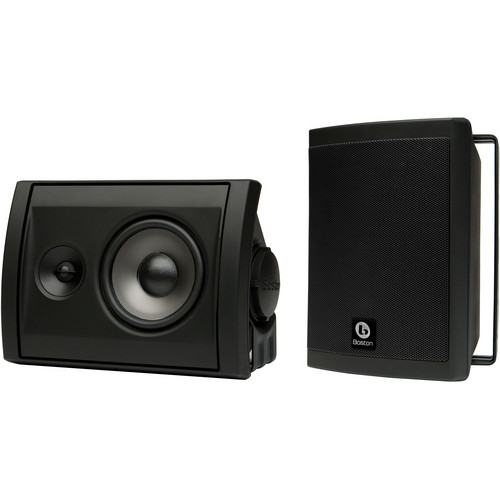 Boston Acoustics Voyager 40 2-Way Outdoor Speakers (Pair, Black)
