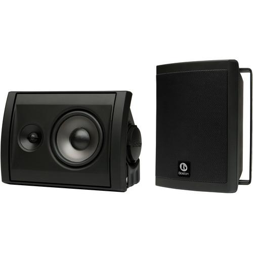 Boston Acoustics Voyager 40 2-Way Outdoor Speakers (Pair, Black)
