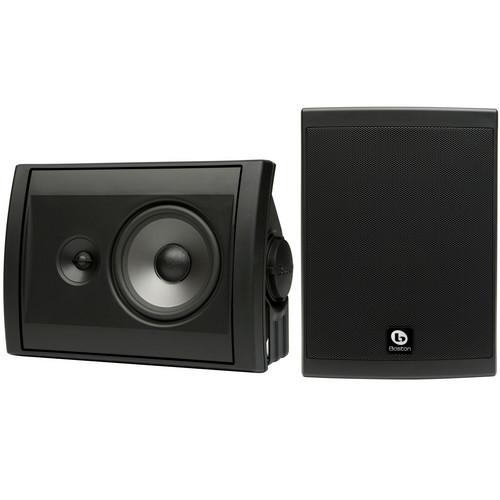 Boston Acoustics Voyager 50 2-Way Outdoor Speakers (Pair, Black)