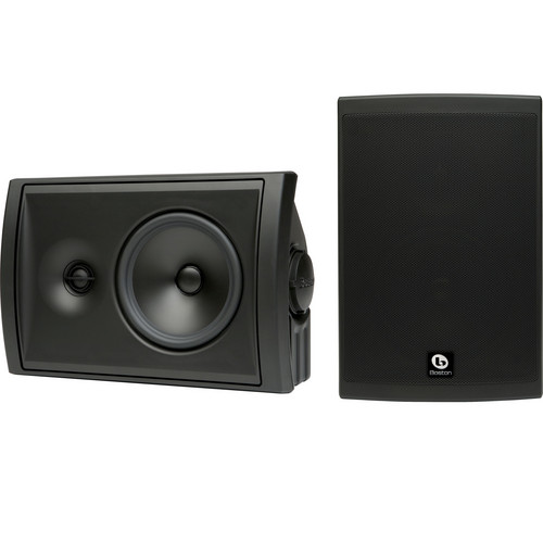 Boston Acoustics Voyager 60 2-Way Outdoor Speakers (Pair, Black)