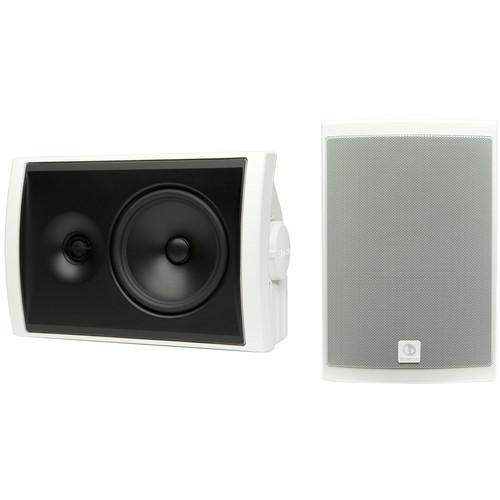 Boston Acoustics Voyager 60 2-Way Outdoor Speakers (Pair, White)