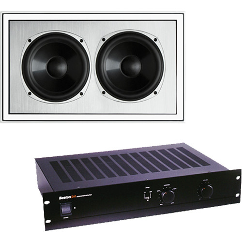 Boston Acoustics Boston Acoustics In-Wall Sub/Amplifier Package