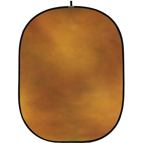 Botero #010 CollapsibleBackground (5x7') (Gold, Brown)