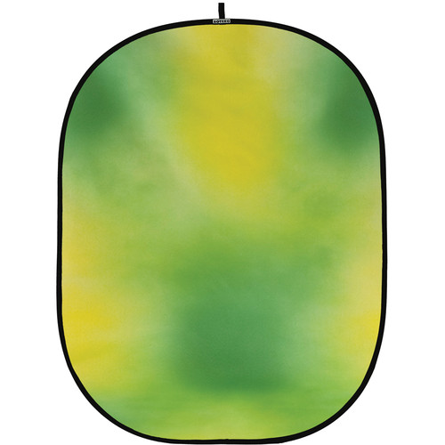 Botero #012 CollapsibleBackground (5x7') (Green, Yellow-Green)