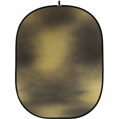 Botero #016 CollapsibleBackground (5x7') (Brown, Gold)