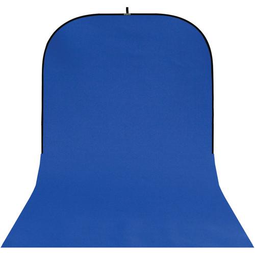 Botero #027 Super Collapsible Background - 8x16' - Chroma-Key Blue