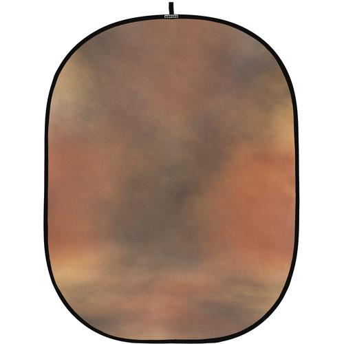 Botero #029 CollapsibleBackground (5x7') (Brown, Gold)