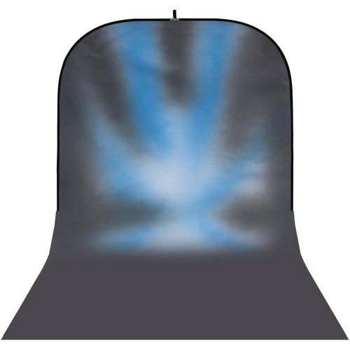 Botero #030 Super Collapsible Background (8x16', Gray, Blue, White)