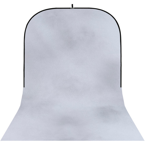 Botero #038 Super Collapsible Background (8x16', White, Light Gray)