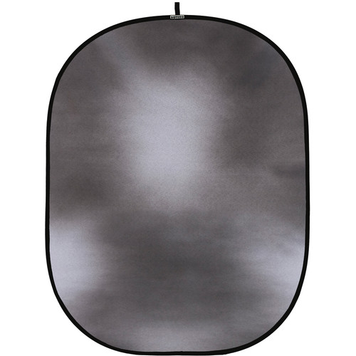 Botero #005 CollapsibleBackground (5x7') (Dark, Light Neutral Grey)