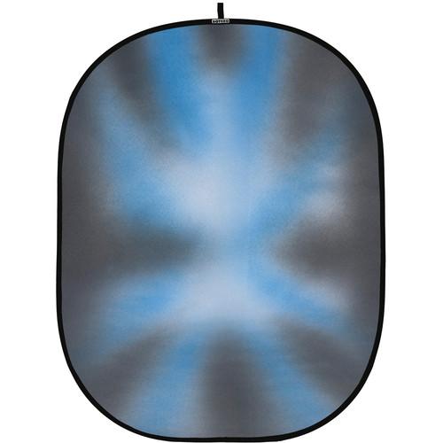 Botero #030 CollapsibleBackground (5x7') (Dark, Medium Blue)
