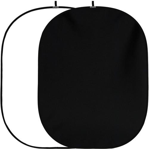 Botero #037 Collapsible ReversibleBackground (5x7') (Black/White)