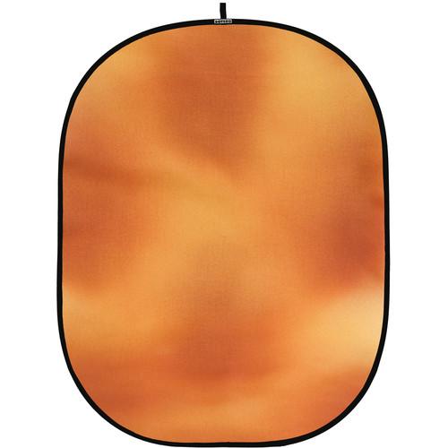 Botero #039 CollapsibleBackground (5x7') (Yellow, Orange Sienna)