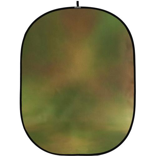Botero #042 CollapsibleBackground (5x7') (Green, Orange)