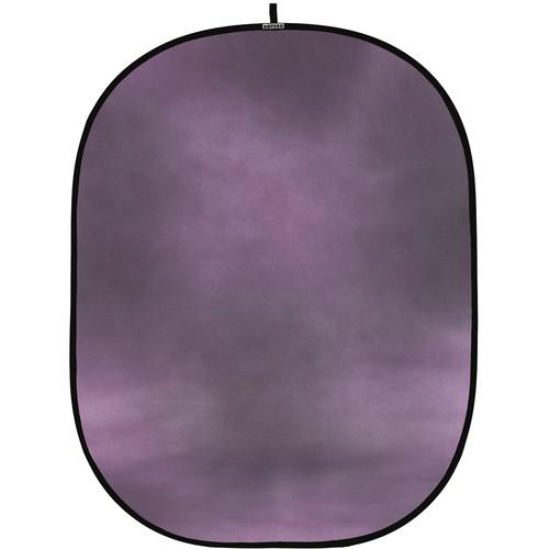 Botero #046 CollapsibleBackground (5x7') (Pink, Blue/Gray)