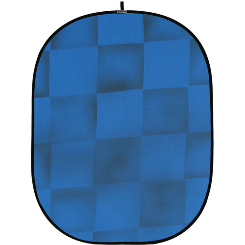 Botero 059 Collapsible Background (5 x 7', Blue, Gray)
