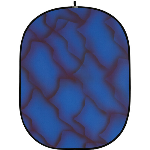 Botero 060 Collapsible Background (5 x 7', Blue, Brown)