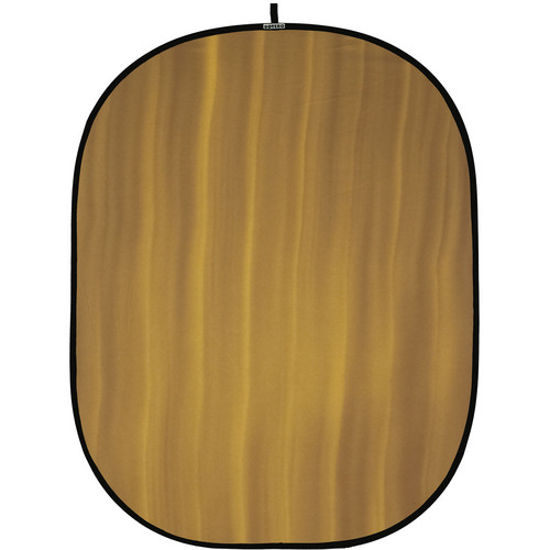 Botero 067 Collapsible Background (5 x 7', Brown, Yellow)
