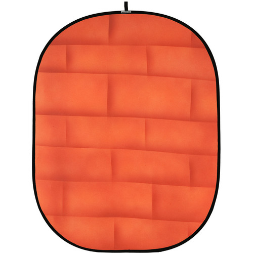 Botero 072 Collapsible Background (5 x 7', Brick Orange)
