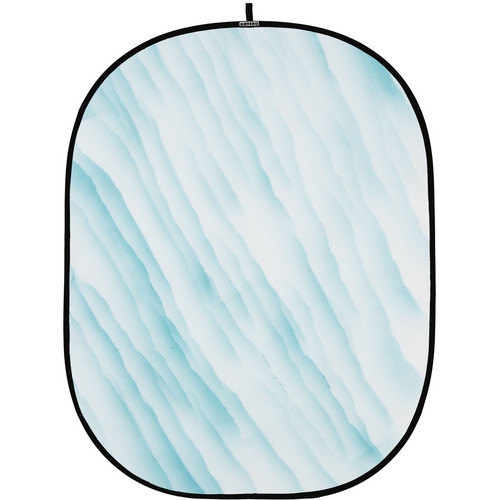 Botero 073 Collapsible Background (5 x 7', Light Blue, White)