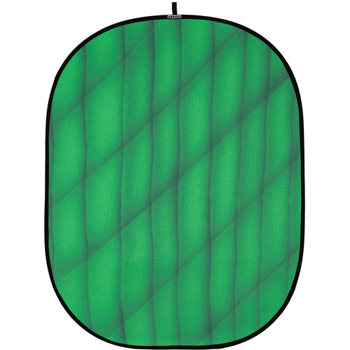 Botero 074 Collapsible Background (5 x 7', Green, Dark Green)