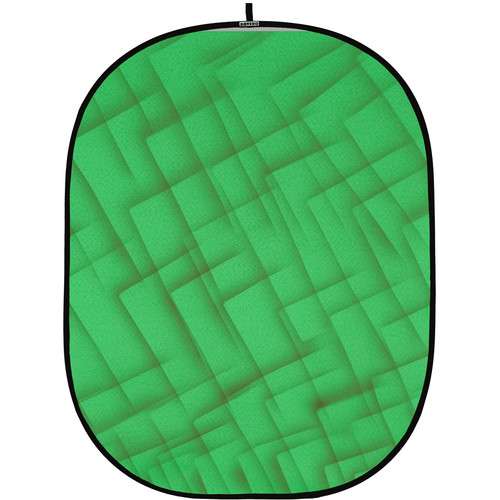 Botero 075 Collapsible Background (5 x 7', Green, Brown)