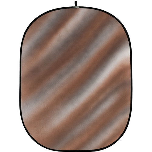 Botero 077 Collapsible Background (5 x 7', Brown, Gray, White)