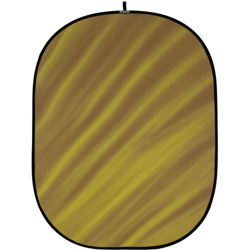 Botero 081 Collapsible Background (5 x 7', Brown, Yellow)
