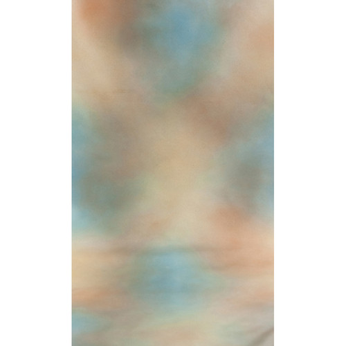 Botero #001 Muslin Background (10x12', Green, Blue, Brown)