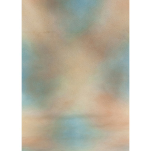 Botero #001 Muslin Background for the Rotary System (5x7', Green, Blue, Brown)