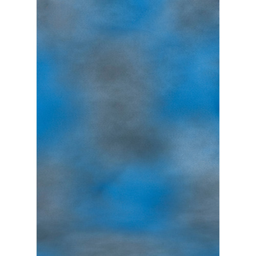 Botero #004 Muslin Background for the Rotary System (5x7', Blue, Gray)