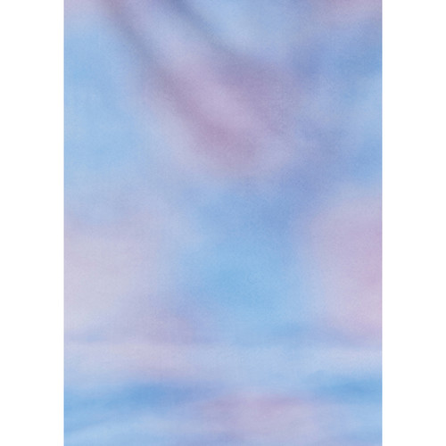 Botero #006 Muslin Background for the Rotary System (5x7', Sky Blue, Pink)