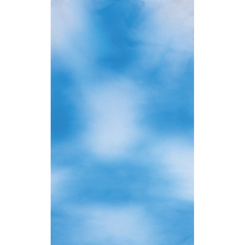 Botero #008 Muslin Background (10x24', Sky Blue, White)